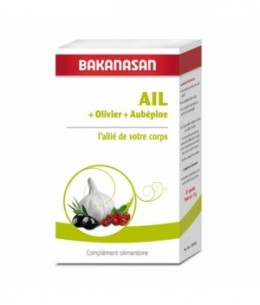 Bakanasan - Ail Olivier Aubépine 72 capsules