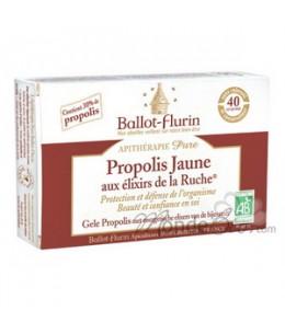Ballot Flurin - Propolis Jaune aux élixirs de la Ruche Beauté intérieure - 40 comprimés