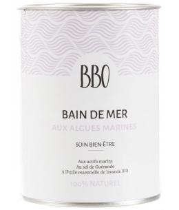 Bio Bretagne Ocean - Bain de Mer au Sel de Guérande Lavande 100% naturel - 600 gr