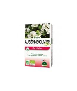 Biotechnie - Aubépine Olivier bio - 20 ampoules