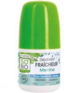 So'Bio étic - Déodorant Poudre de Bambou Peaux Normales - 50 ml