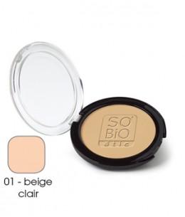So'Bio étic - Poudre compacte 01 Beige clair - 10 gr