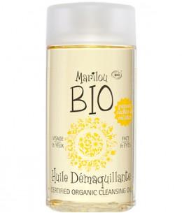 Marilou Bio - Huile démaquillante à l'Amande douce Peaux Sèches à Mixtes - 125 ml