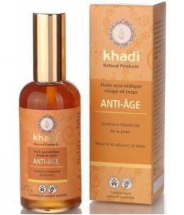 Khadi - Huile Anti Age Visage et Corps 100 ml