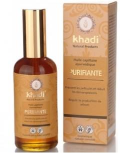 Khadi - Huile de Soin Capillaire Purifiante - 100 ml