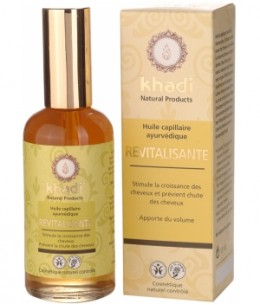 Khadi - Huile de Soin Capillaire Revitalisante - 100 ml