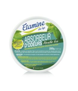Etamine du Lys - Absorbeur d'odeurs à l'huile essentielle de menthe bio - 250 gr