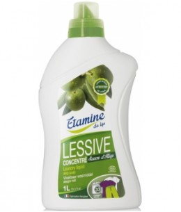 Etamine du Lys - Lessive liquide au savon d'Alep de Syrie 1L