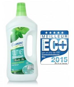 Etamine du Lys - Nettoyant tout net à la menthe multi usage super économique 200 lavages - 1L