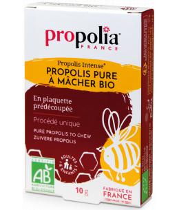 Propolia - Propolis pure à mâcher - Plaquette de 10gr sous cellophane
