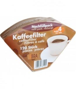 Droguerie Ecologique - 120 filtres à café non blanchis