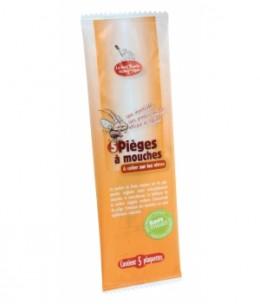 Droguerie Ecologique - 5 pièges à mouches avec attractif