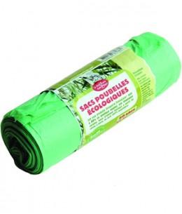 Droguerie Ecologique - Rouleau de 20 sacs poubelle de 50 litres