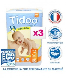 Tidoo - Jumbo de 3 x 56 Couches MIDI (T3)