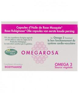Mosqueta's - Huile de Rose Musquée Bio Omegarosa - 60 capsules