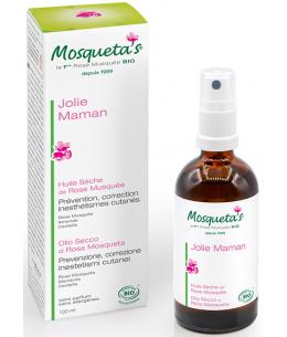 Mosqueta's - Huile sèche de Rose Musquée prévention/correction des Vergetures - 100 ml