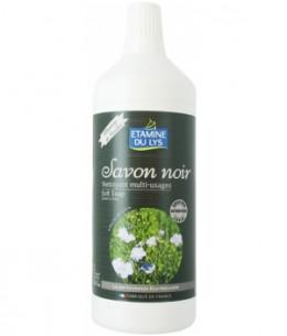 Etamine du Lys - Savon Noir concentré en huile d'olive et de lin bio - 1 L