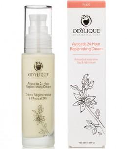Odylique - Crème Régénératrice Bio à l'Avocat 24h - 15 ml