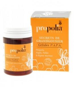 Propolia - Gélules Propolis, Argile, Pollen et Algues Marines - 80 gélules