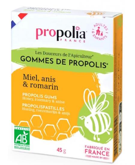 Propolia - Gommes de Propolis Romarin bio - 45 gr