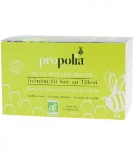 Propolia - Infusion Bio Après Repas Propolis et Plantes - 20 sachets