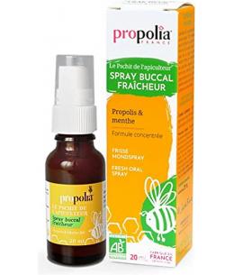 Propolia - Spray buccal bio Propolis Menthe Spray verre - 20 ml
