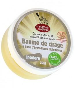 Droguerie Ecologique - Baume de cirage Incolore - 75 ml