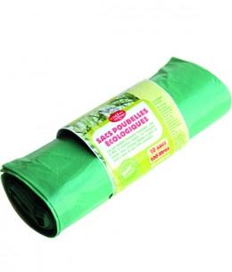 Droguerie Ecologique - Rouleau de 10 sacs poubelle - 10x100 Litres