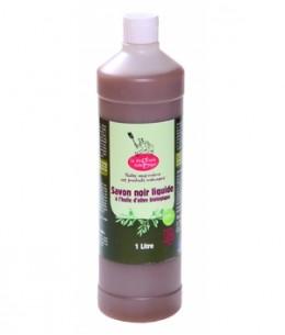 Droguerie Ecologique - Savon noir liquide à l'huile d'olive biologique - 1 L