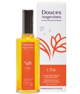 Les Douces Angevines - L'Eté fluide Précurseur et prolongateur solaire visage et corps - 100 ml