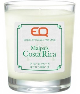 EQ - Bougie artisanale parfumée Malpais Costa Rica - 180 gr