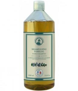 L'artisan Savonnier Hygiène - Shampoing familial à l'huile essentielle de Lavandin - 1L