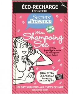Secrets De Provence - Recharge Mon shampoing sec tous cheveux - 38 ml