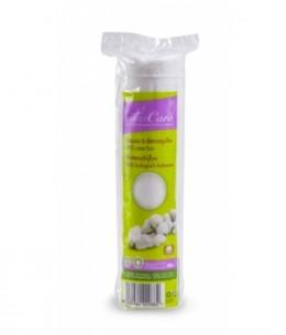 Silvercare - Disques à démaquiller 100% coton bio