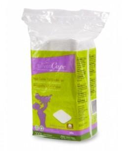 Silvercare - Maxis carrés 100% coton bio - x60