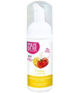 Pulpe De Vie - Frimousse mousse nettoyante visage Pamplemousse Tomate - 125 ml