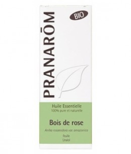 Pranarôm - Bois de Rose Bio Flacon compte gouttes - 10 ml