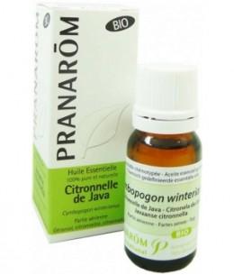 Pranarôm - Citronnelle de Java Flacon compte gouttes - 10 ml