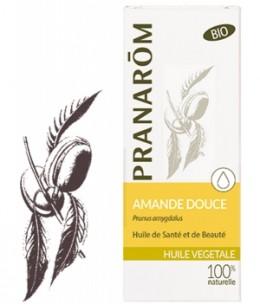 Pranarôm - Huile végétale d'Amande douce Flacon verre - 50 ml