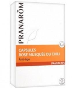 Pranarôm - Rose musquée du Chili - 40 capsules