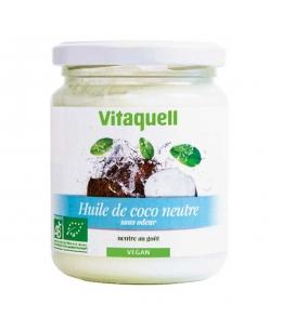 Vitaquell - Huile de coco goût neutre - 200 gr