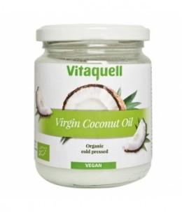Vitaquell - Huile de coco vierge Plaisir culinaire et soin corporel parfum noix de coco - 200 gr