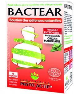 Phyto-Actif - Bactear Confort et hygiène - 45 capsules