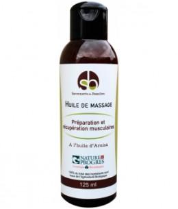 Savonnerie De Beaulieu - Huile de massage Préparation et récupération musculaires - 125 ml