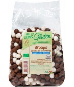 Ma Vie Sans Gluten - Céréales Bi Pop's riz, coco et cacao sans gluten - 250 gr