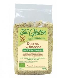 Ma Vie Sans Gluten - Duo de Flocons Avoine Sarrasin sans gluten - 400 gr