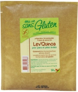 Ma Vie Sans Gluten - Lev'Quinoa pour pains et pâtes levées sans gluten - 50 gr