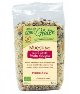 Ma Vie Sans Gluten - Muesli aux 4 petits fruits rouges sans gluten - 375 gr