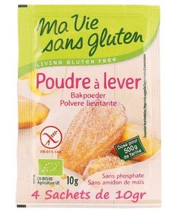 Ma Vie Sans Gluten - Poudre à lever sans gluten - 4x10g