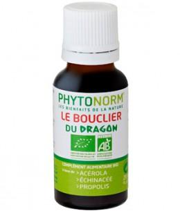 Phytonorm - Le bouclier du dragon 100% BIO Sans HE action préventive en gouttes - 20 ml